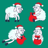 New Year's Sheeps