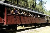Little Tourist Steam Train From Anduze