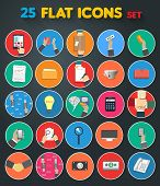 Business, Office And Marketing Items Icons