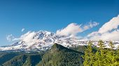 Mount Rainier From Inspiration Point, Mount Rainier National Park, WA
