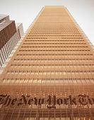 Nyc - Look Up. The New York Times Building.