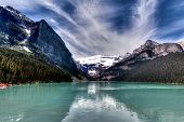 Canadian Landmark: Lake Louise In Alberta, Canada