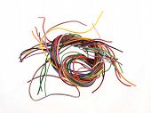 Multicoloured Six Amp Electrical Wire
