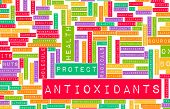 stock photo of oxidation  - Antioxidants Concept or Anti Oxidants or Antioxidant - JPG