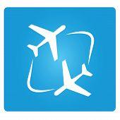 transferring plane