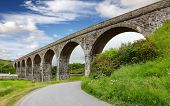Railway Viaduct in Cullen Scotland