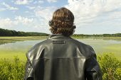 Leather Jacket Nature