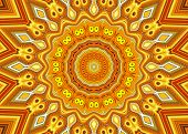 Creative Background. A Wonderful Harmony Of Colors Kaleidoscope.a-0066.