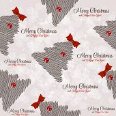 Winter Christmas New Year Seamless Pattern, Beautiful Texture wi