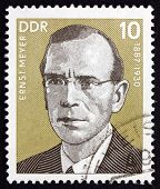 Postage Stamp Gdr 1977 Ernst Meyer, German Labor Leader