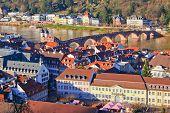 Aerial view of Heidelberg, Germany
