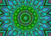 Creative Background. Kaleidoscope.  A Wonderful Harmony Of Colors. A-0075.
