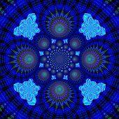 Creative Background. Kaleidoscope.  A Wonderful Harmony Of Colors. A-0079.