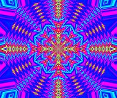 Creative Background. Kaleidoscope.  A Wonderful Harmony Of Colors. A-0082.
