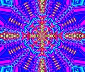 Creative Background. Kaleidoscope.  A Wonderful Harmony Of Colors. A-0082.