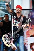 NEW YORK-JUL 18: Recording artist Bret Michaels performs at Fox and Friends' All-American Summer Con