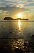 Sunrise At Hat Sai Ri Beach In Chumphon