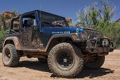 stock photo of four-wheel drive  - Moab - JPG