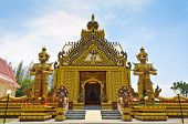 Chapel Of Thai Temple In Hua Hin