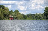 Small Pagoda On A Lake