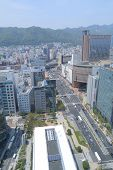 Kobe downtown city view Japan