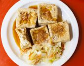 Chinese And Taiwan Traditional Famous Food - Stinky Tofu