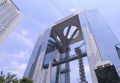 Umeda City Sky Building Floating Garden Observatory Osaka Japan