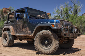 stock photo of four-wheel  - Moab - JPG