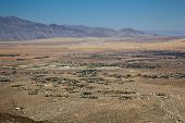 Overview Of Borrego Springs In Anza Borrego State Park