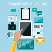 Computer tablet services