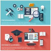 Concept of program coding and distance education