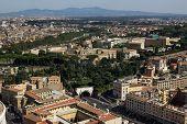 Rome bird's-eye view