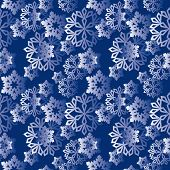 Winter Snowflakes Pattern