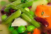 Vegetable soup macro