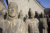 image of qin dynasty  - Figures of Soldier and Clay - JPG