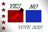 Check box Yes and No