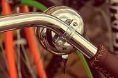 Vintage Look Of One Bicycle Bell