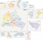 Berlin Administrative Map