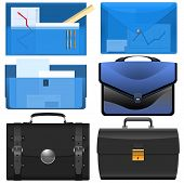 the different briefcases