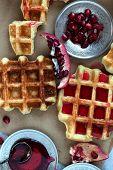 Waffle Closeup