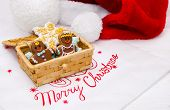 Christmas Gingerbread Cookies In A Box.