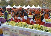 Kimchi Making Festival, Seoul, Korea