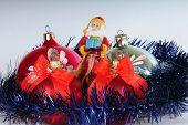Santa Claus and Toys