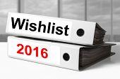 Office Binders Wishlist 2016
