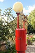 Old fuel pump, Bourton on the Water.