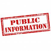Public Information-stamp
