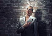 Woman make oath