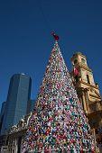 Christmas Tree in Santiago