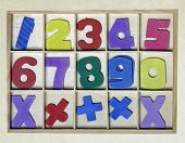 wooden numbers toy