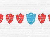 picture of shield  - Privacy concept - JPG